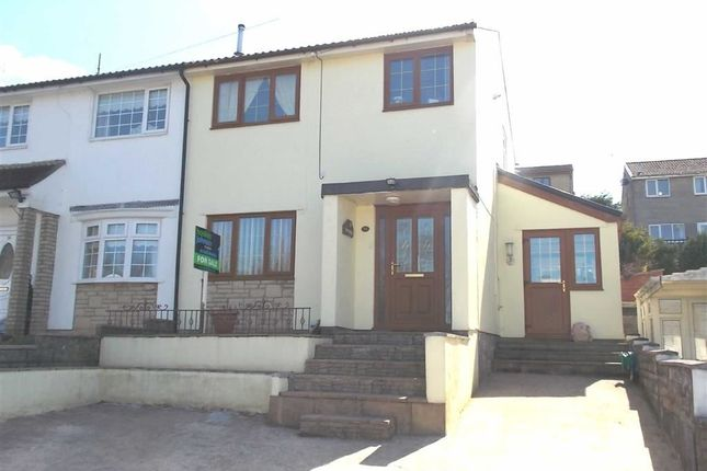 Thumbnail Semi-detached house for sale in Brookside Close, Cilfynydd, Pontypridd