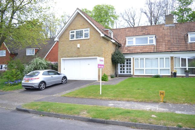 Thumbnail Semi-detached house for sale in The Ridings, Epsom