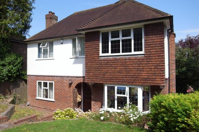 Thumbnail Detached house for sale in Farnham Road, Guildford