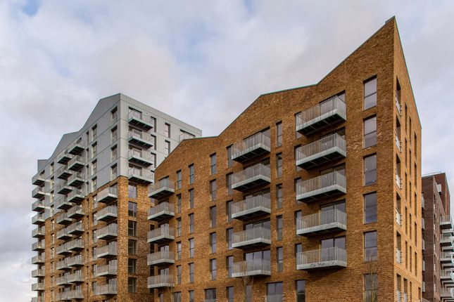 External View of Meranti Apartments, The Timberyard, Deptford SE8