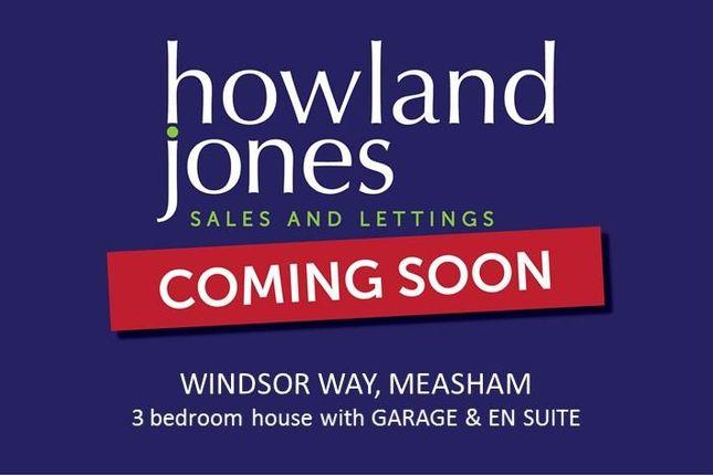 Thumbnail Property to rent in Windsor Way, Measham, Swadlincote