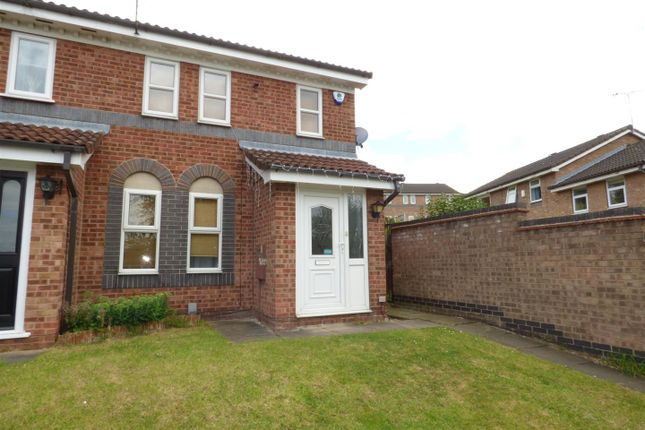 Thumbnail Town house to rent in Old Mansfield Road, Derby