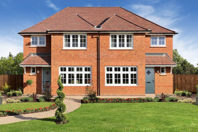 "Thumbnail Semi-detached house for sale in ""Ludlow"" at Ferard Corner, Warfield, Bracknell"