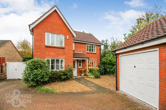 Thumbnail Detached house for sale in Vane Close, Dussindale, Norwich