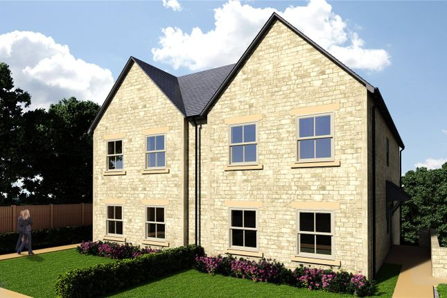 Thumbnail Semi-detached house for sale in Amberley Ridge, Rodborough Common, Stroud, Gloucestershire