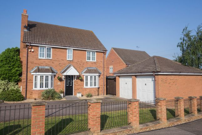 Thumbnail Detached house for sale in Lodge Way, Irthlingborough, Wellingborough