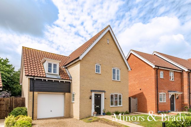 3 bed detached house for sale in Liberator Close, Swanton Morley, Dereham NR20