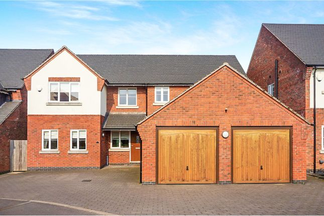 Thumbnail Detached house for sale in Lakesedge, Stone