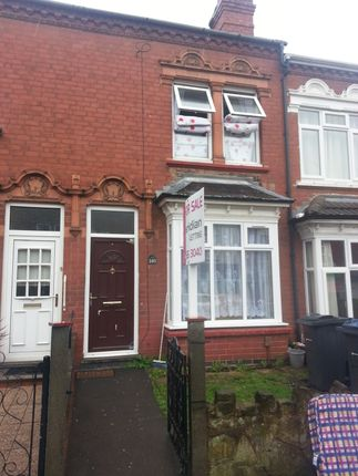 Thumbnail Terraced house for sale in Selsey Road, Birmingham
