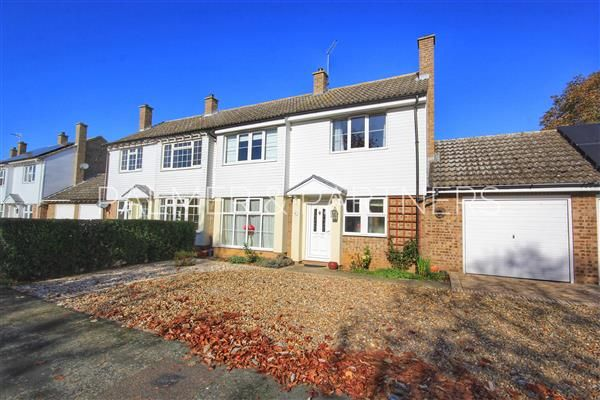 Thumbnail Semi-detached house for sale in Cotswold Drive, Long Melford, Sudbury