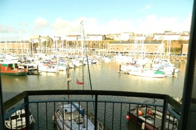 Thumbnail Flat to rent in 12 Temeraire House, Nelson Quay, Milford Haven
