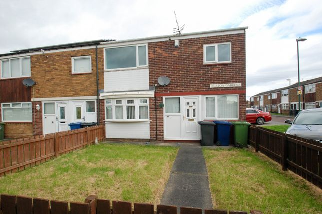 Thumbnail 3 bed terraced house for sale in Heaton Gardens, South Shields