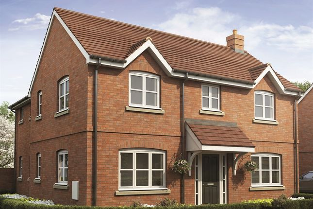 "Thumbnail Detached house for sale in ""The Foxford "" at Campden Road, Long Marston, Stratford-Upon-Avon"