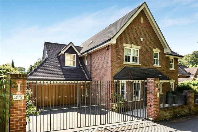 Thumbnail Detached house for sale in Portesbery Road, Camberley, Surrey