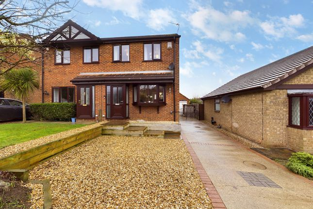 Thumbnail Semi-detached house for sale in Stevensons Way, Barton-Upon-Humber, North Lincolnshire
