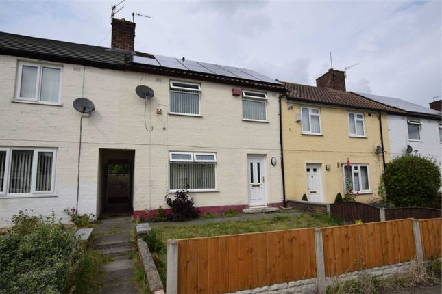 Thumbnail Terraced house to rent in Ganneys Meadow Road, Upton, Wirral