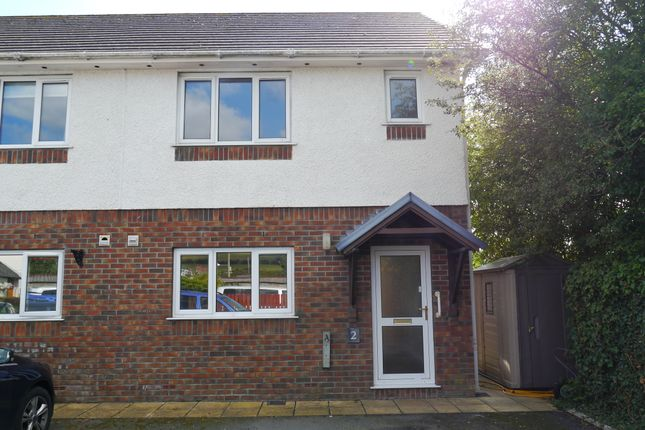 Thumbnail Semi-detached house to rent in Penrhyncoch, Aberystwyth