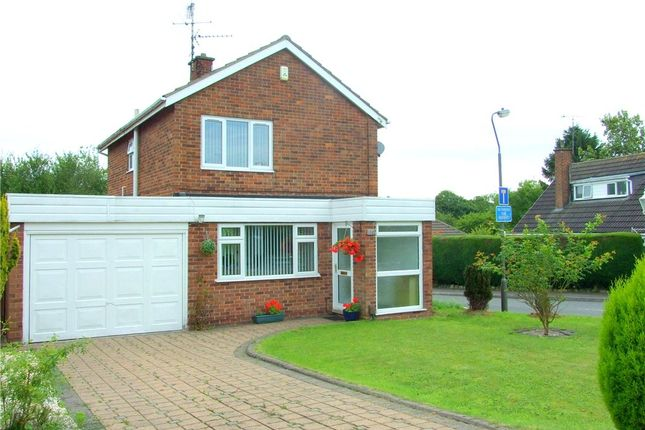 Thumbnail Detached house for sale in Carsington Crescent, Allestree, Derby