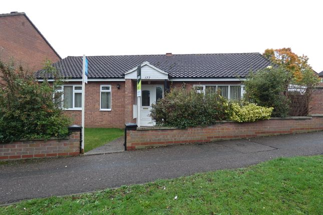 Thumbnail Detached bungalow to rent in Hillgrounds Road, Kempston, Bedford