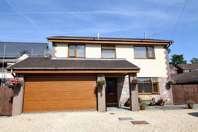 Thumbnail Detached house for sale in Castle Street, Fleur De Lis, Blackwood