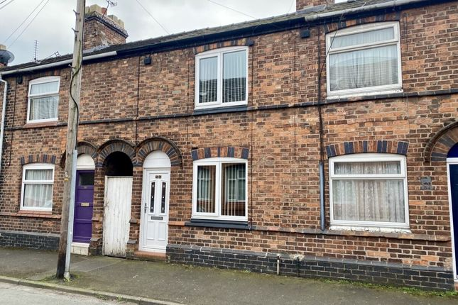 Thumbnail Terraced house for sale in Arnold Street, Nantwich