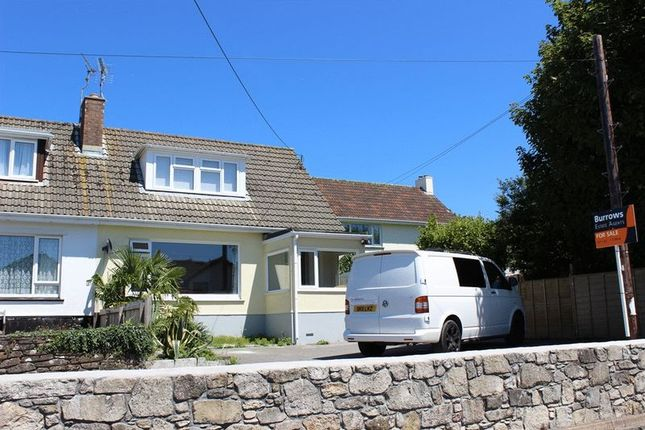 Thumbnail Semi-detached house for sale in Bownder Vean, St. Austell
