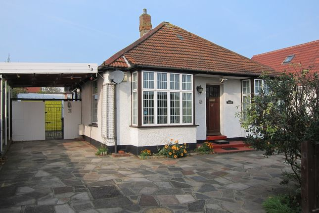 Thumbnail Detached bungalow for sale in Eastmead Avenue, Greenford