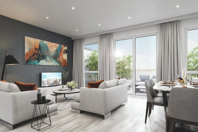 Thumbnail Flat for sale in Plot 14, North Park Quarter, Acton Gardens, Bollo Lane, Acton, London
