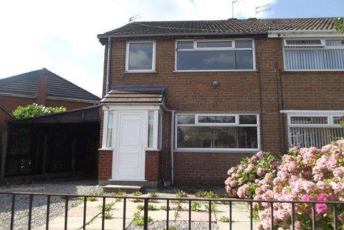 Thumbnail Semi-detached house for sale in Leach Lane, Sutton Leach, St. Helens, Merseyside