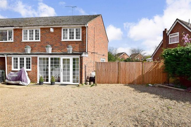 Thumbnail 3 bed end terrace house for sale in Broomfield Road, Kingswood, Maidstone, Kent