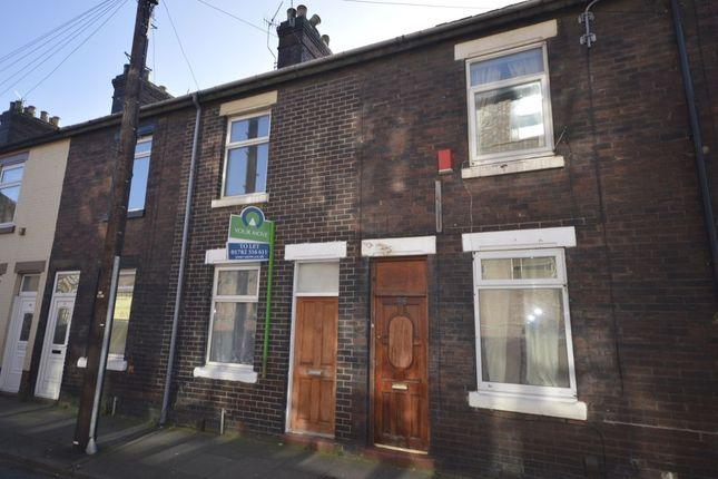 Thumbnail Terraced house to rent in Greendock Street, Longton, Stoke-On-Trent
