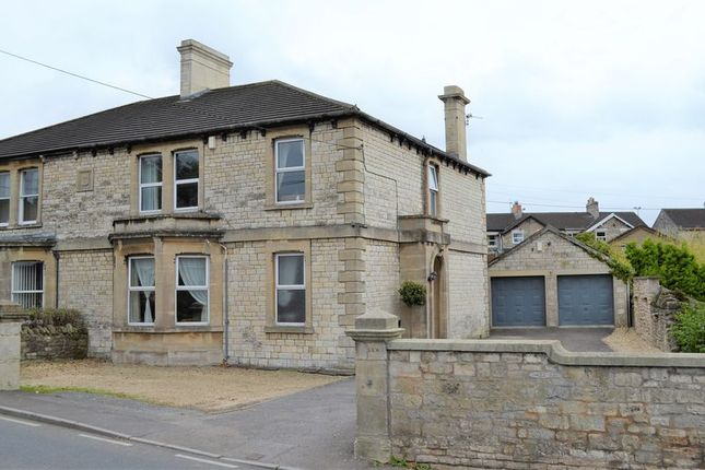 Thumbnail Semi-detached house for sale in Frome Road, Writhlington, Radstock