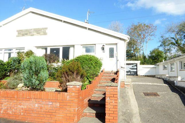 Thumbnail Semi-detached bungalow for sale in Castle View, Bridgend