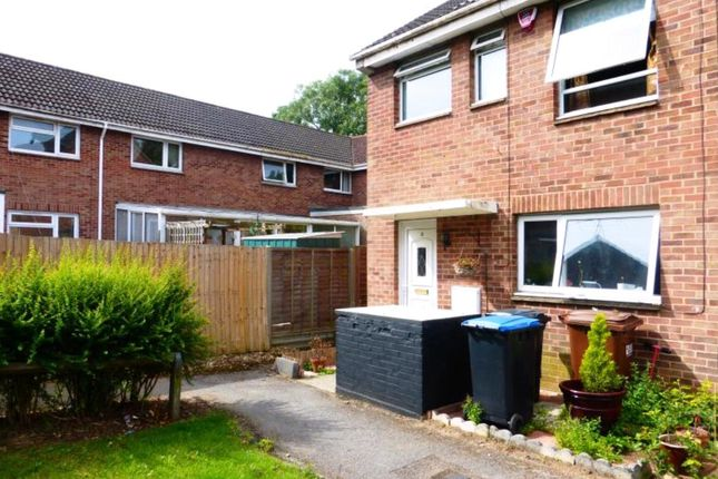 Thumbnail End terrace house to rent in Graveley Dell, Welwyn Garden City