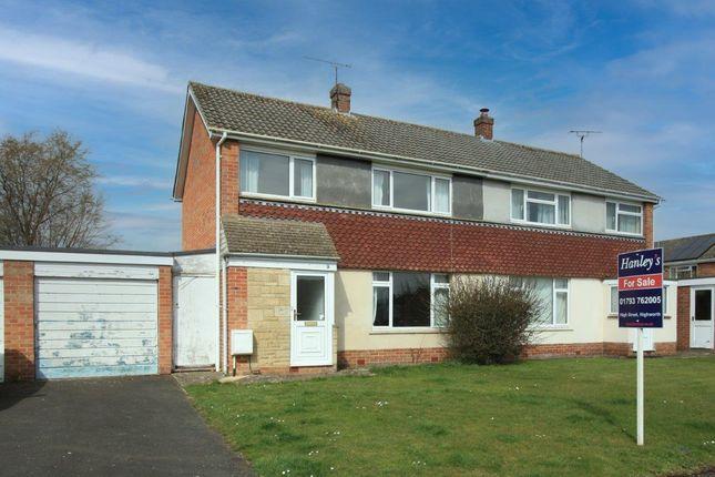 Thumbnail Semi-detached house for sale in Cowleaze Close, Shrivenham