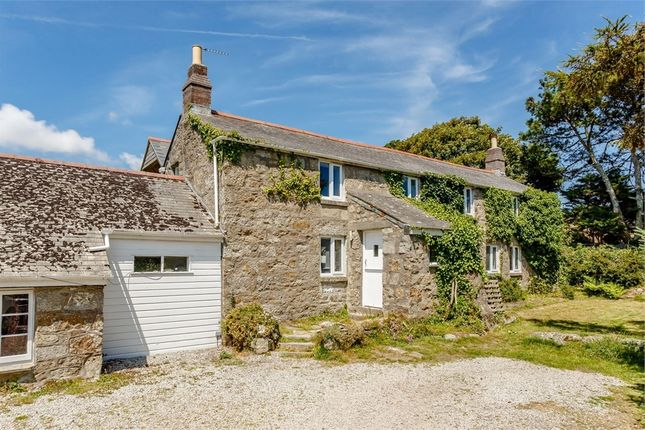 Thumbnail 4 bed detached house for sale in Quarry Lane, Paul, Penzance, Cornwall