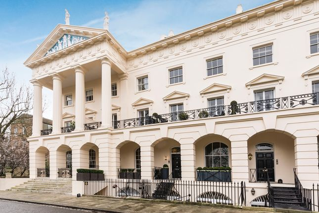 Thumbnail Terraced house to rent in Hanover Terrace, Regents Park
