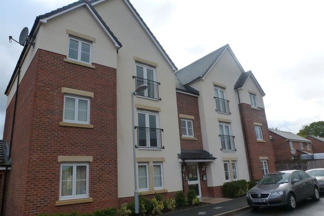 Thumbnail Flat to rent in Lambourne Court, Gwersyllt