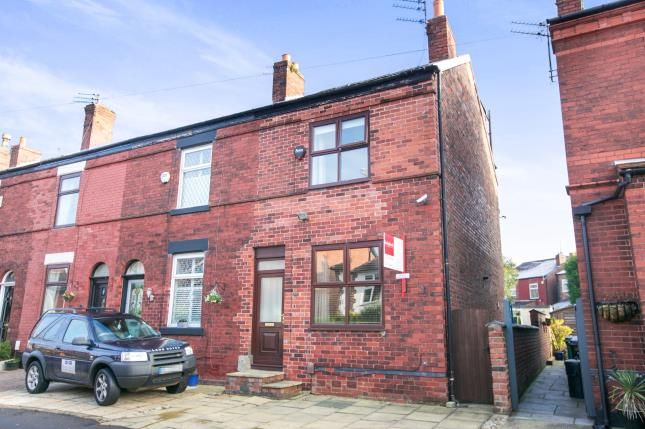 Thumbnail End terrace house for sale in Moorland Road, Woodsmoor, Stockport, Cheshire