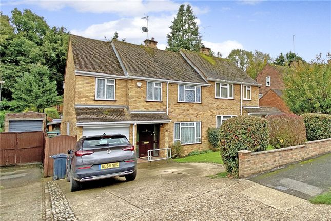 Thumbnail Semi-detached house for sale in Marys Mead, Hazlemere, Buckinghamshire