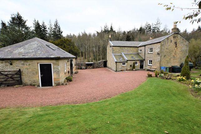 3 bed detached house for sale in Biddlestone, Morpeth NE65