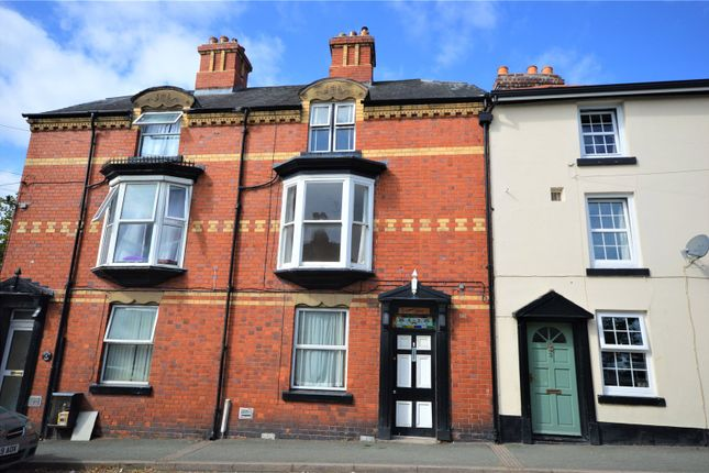 Thumbnail Terraced house to rent in Crescent Villas, Crescent Street, Newtown, Powys