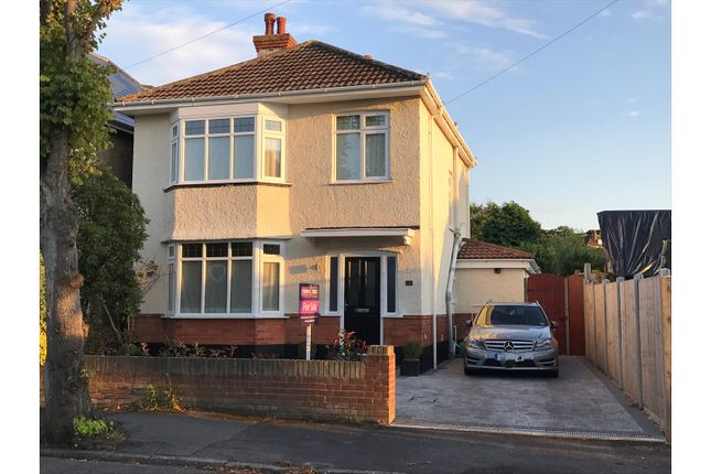 Thumbnail Detached house for sale in Rowena Road, Bournemouth