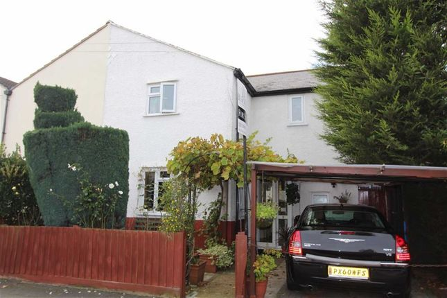 Thumbnail Semi-detached house for sale in Haverhill Road, North Chingford, London