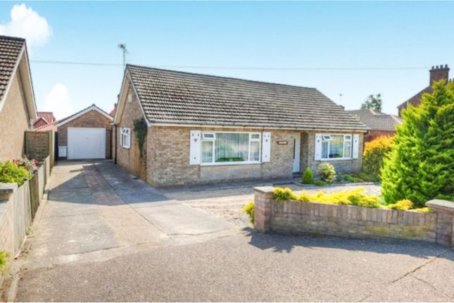Thumbnail Detached bungalow for sale in North Road, Hemsby