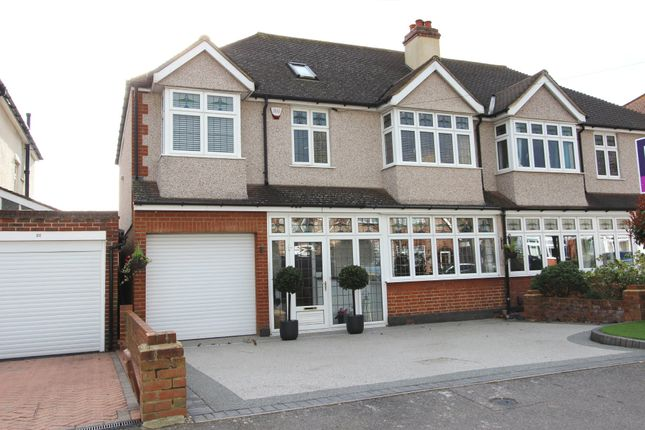 Thumbnail Semi-detached house for sale in Ebbisham Road, Worcester Park
