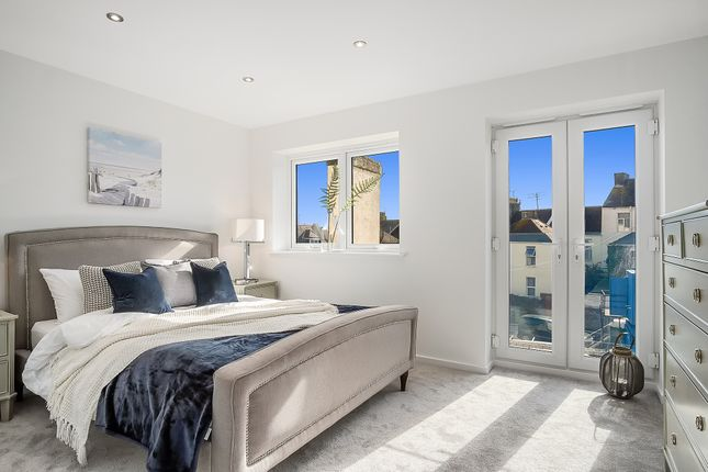 Thumbnail Town house for sale in Pier 15, Pier Street, West Hoe, Plymouth