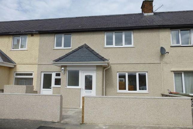 3 bed terraced house for sale in Bryn Paun, Llangoed, Beaumaris