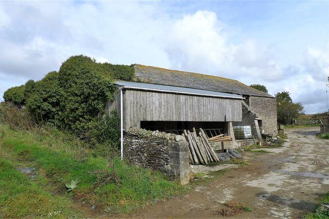 Thumbnail Land for sale in Treravel Farm Barns, St. Ervan, Nr. Padstow, Cornwall