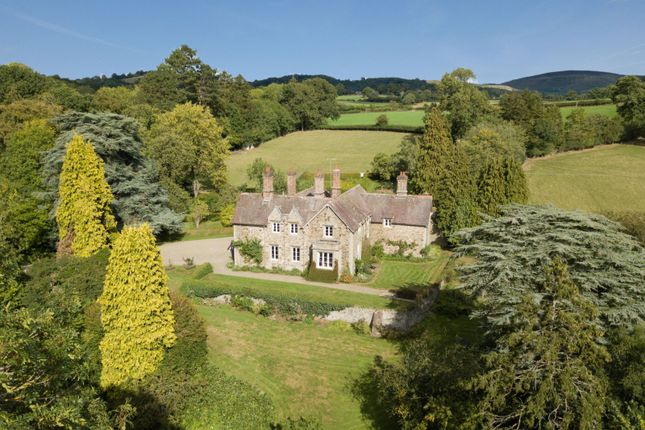 Thumbnail Detached house for sale in Hyssington, Montgomery, Powys